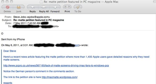 MacMatte (matte petition) | Matte Antiglare Screens 4 Macs